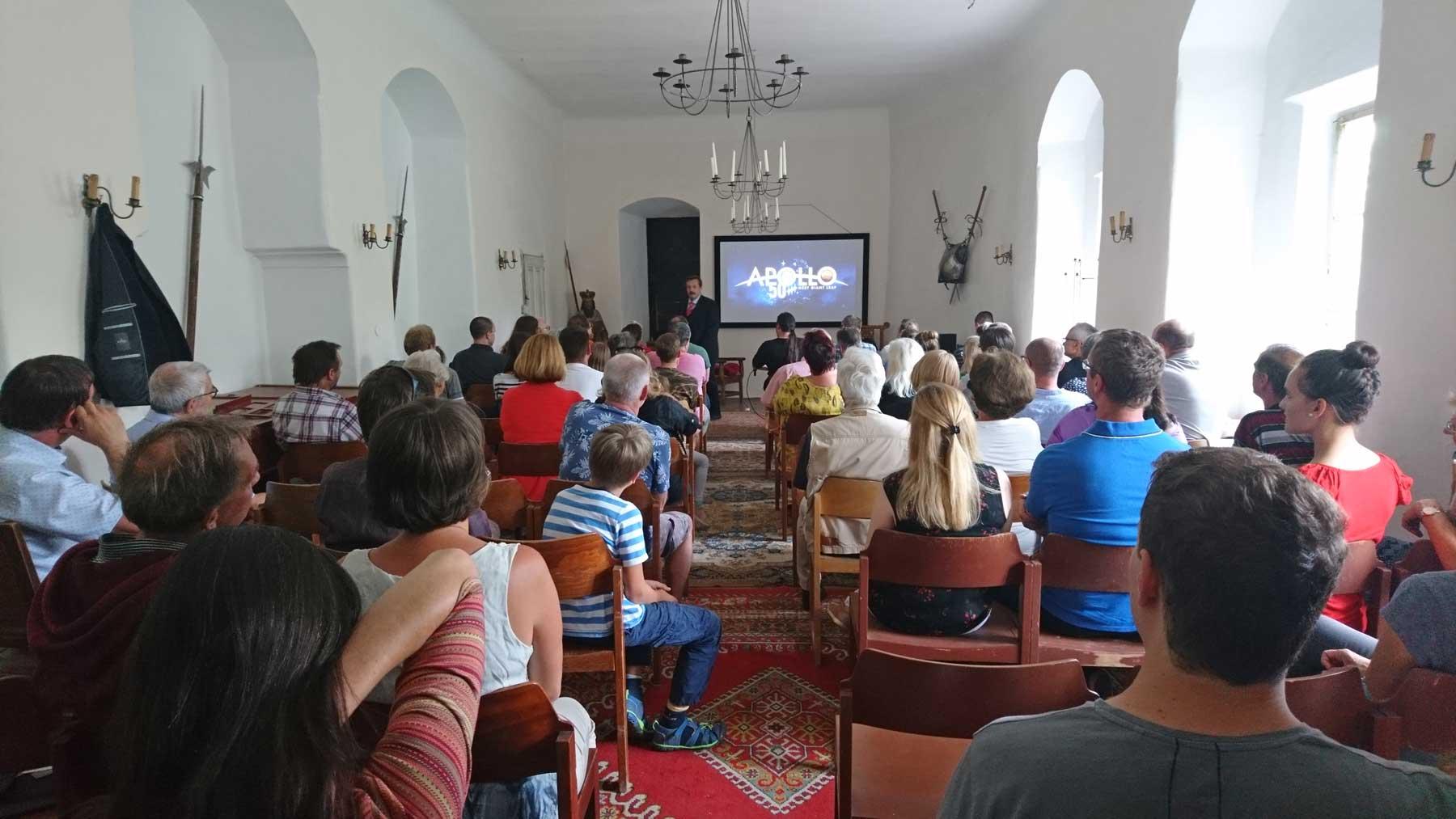Vortrag Wernder Gruber über 50 Jahre Apollo