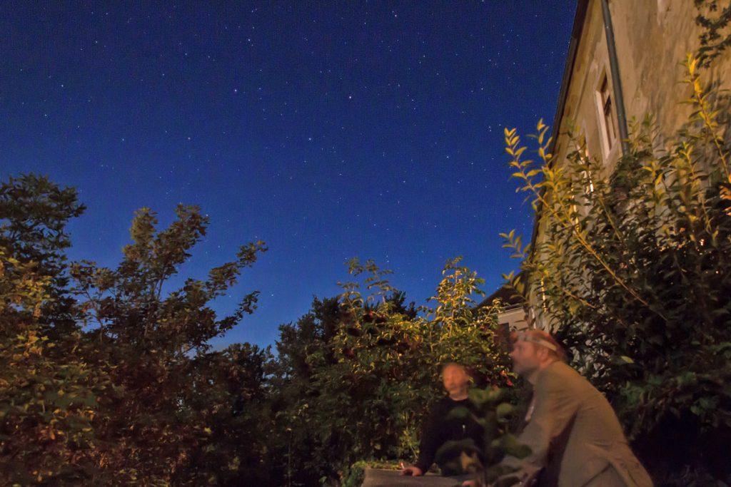 Sternbeobachtung auf Schloss Albrechtsberg