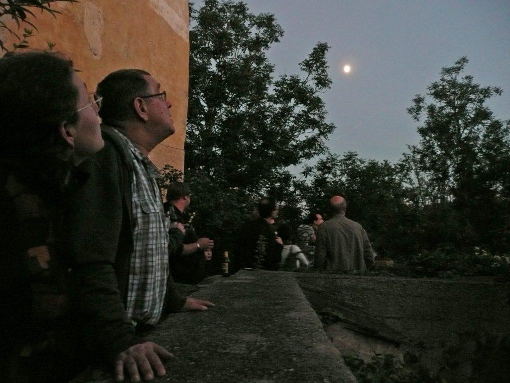 Himmelsbeobachtung; Foto: Maria Pflug-Hofmayr