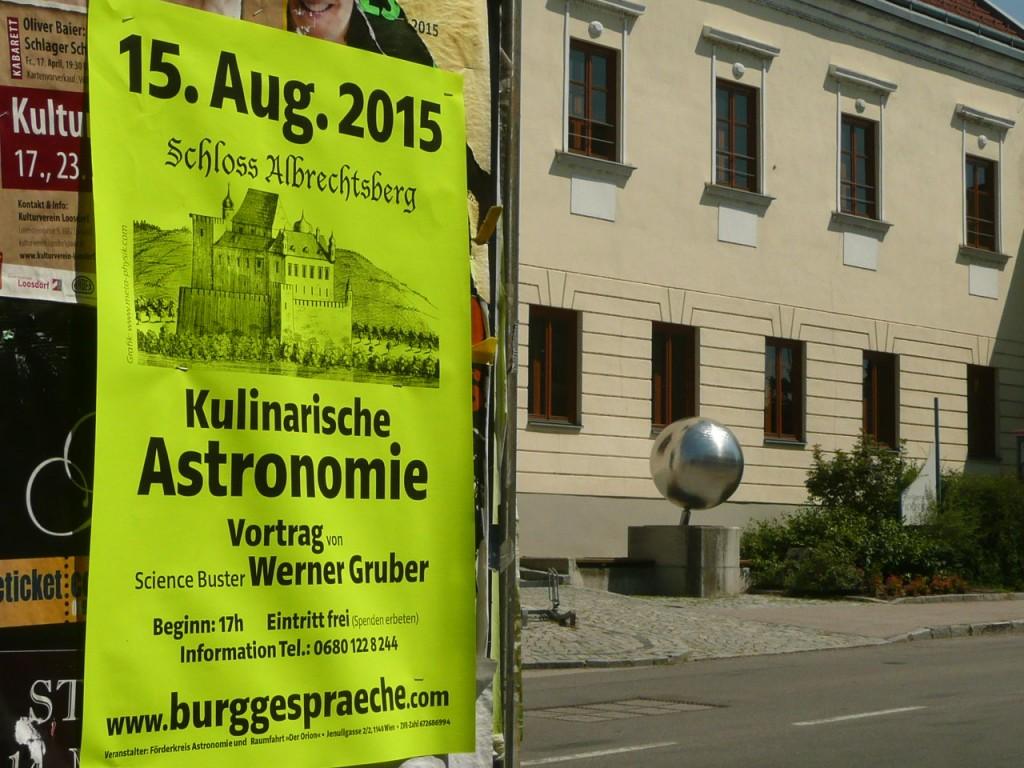 Plakat Kulinarische Astronomie
