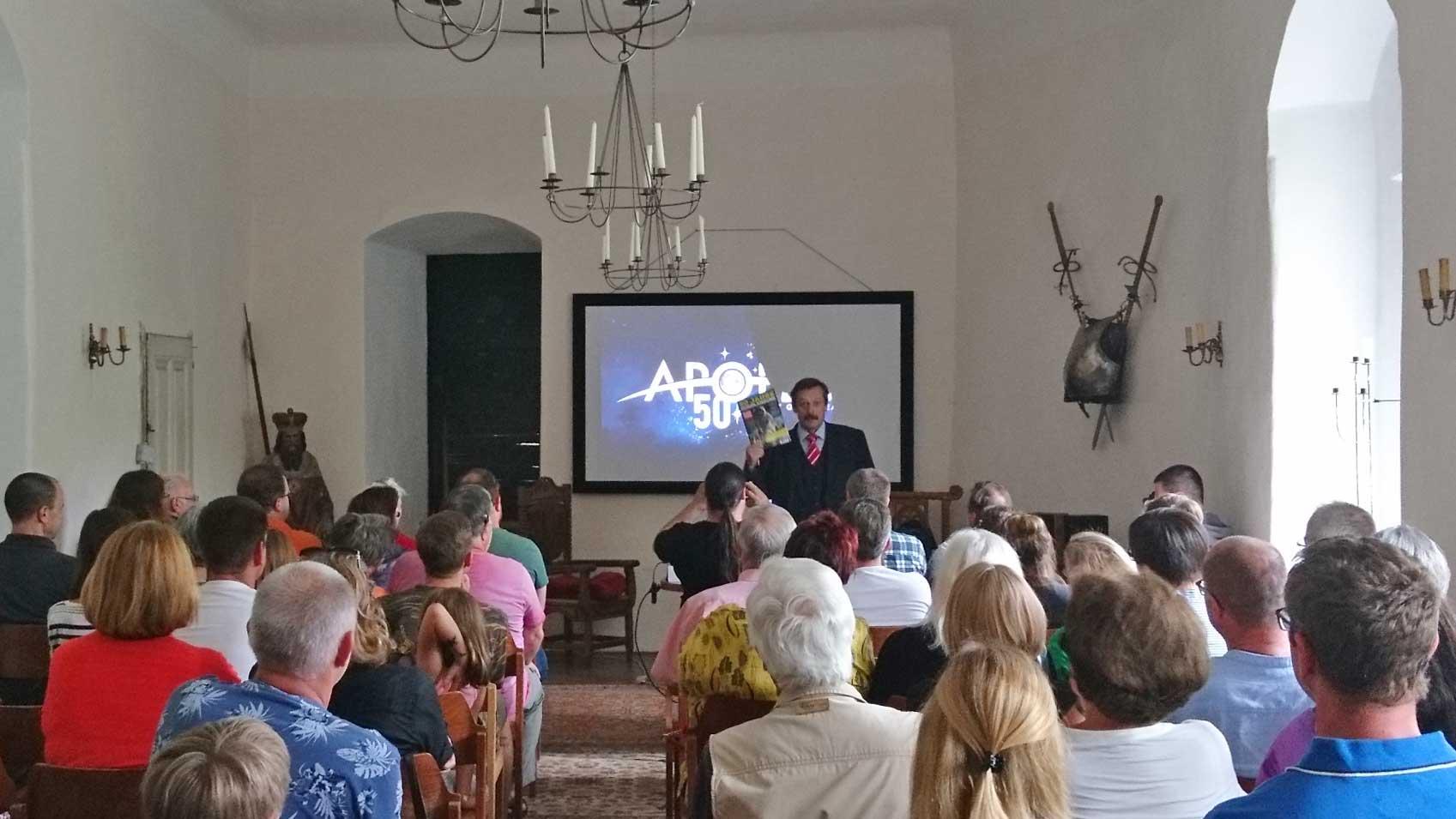 Vortrag von Werner Gruber: 50 Jahre Apollo